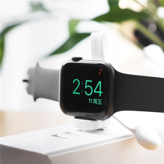hoco-cw19-nimble-iwatch-wireless-charger-charging